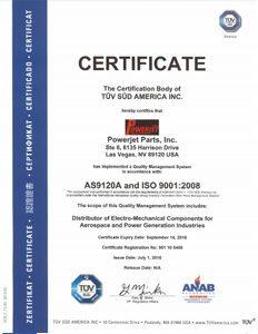 AS9120A-certificate