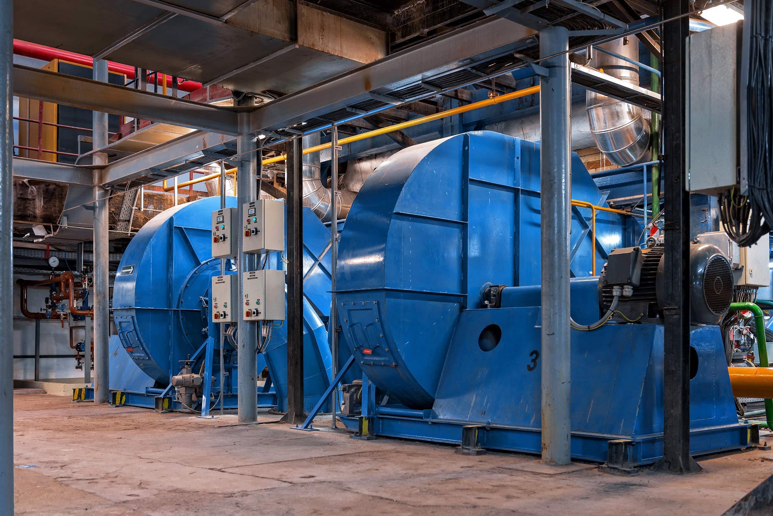 Generator inside power plant powerjet parts